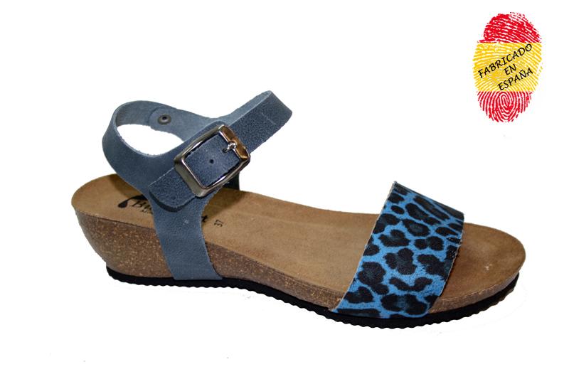 003 leopard azul bioconfort