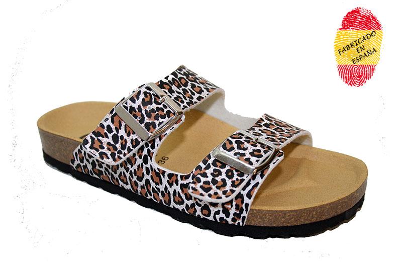 2 hebillas fantasy leopard